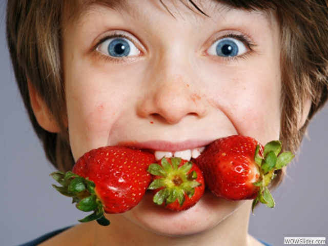 We Make Fresh Fruits And Veggies Fun For Kids...