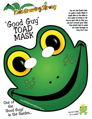 Good Guy Masks Kids Growing Strong